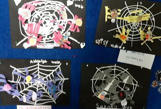 Sonia Dittman of Seaview Primary School challenged her year one students to make a combination of spiders and insects with a number of legs that came as close to 40 legs they could get.  Checkout the art works that resulted, which also brightened up the school hallway. Sonia's awesome room combines maths and art – or should I say collide in imaginative and engaging ways!