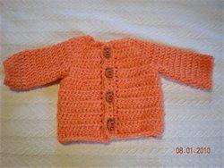 Free newborn sweater pattern