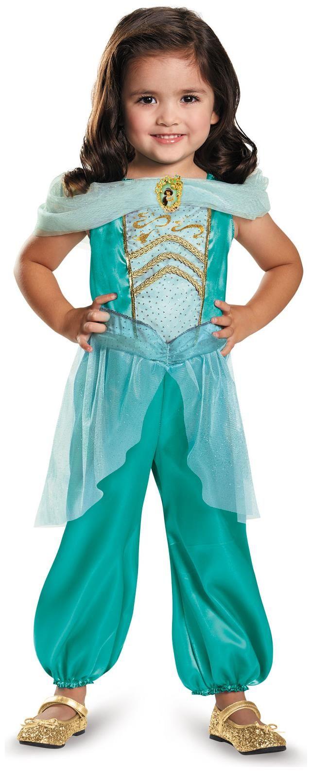 PartyBell.com - #Disney Princess Jasmine Classic #Child #Costume