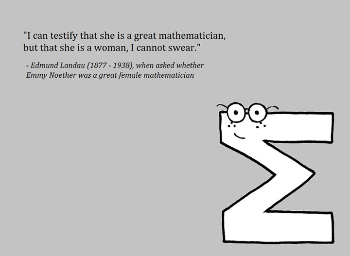 Interesting Quote About The Role Of Women In Mathematics