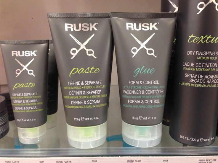 Rusk NEW hair products!