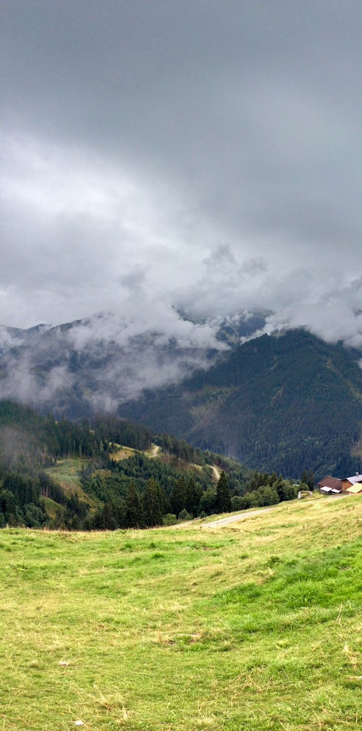Saalbach - cloudy day