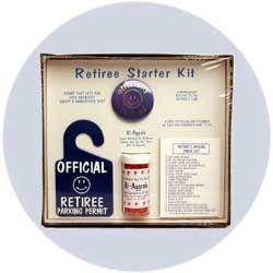 Decorations for Retirement Party | Funny Retirement Gag Gift - Retirement Starter Kit