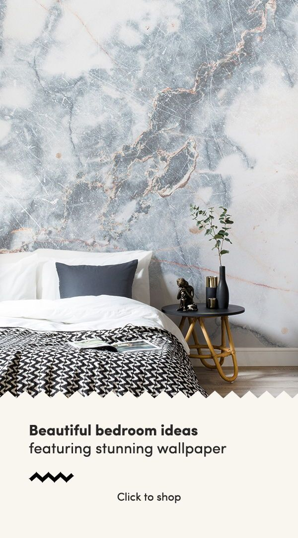 Deep Blue Clouded Marble Wall Mural Classy Bedroom Marble