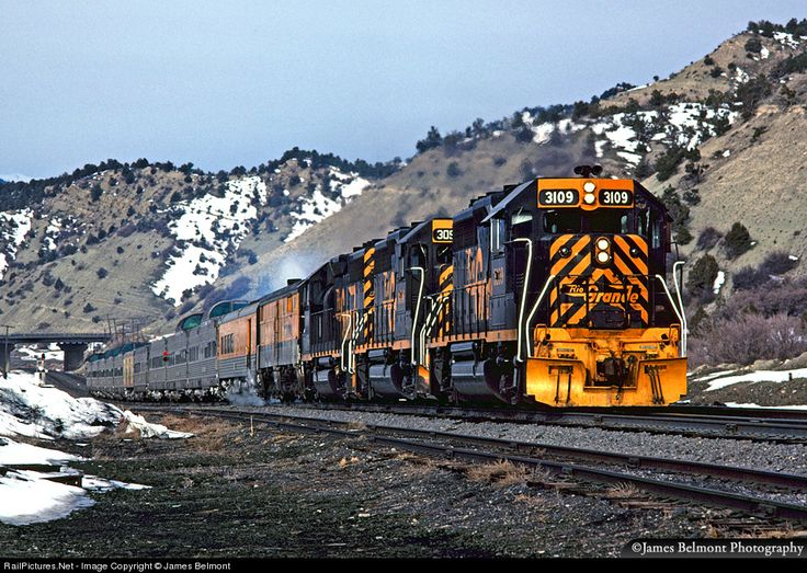 RailPictures.Net Photo: DRGW 3109 Denver & Rio Grande Western Railroad EMD GP40-2 at Spanish Fork Canyon, Utah by James Belmont