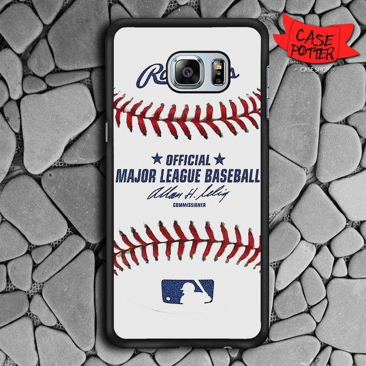 Baseball Samsung Galaxy S6 Edge Plus Black Case