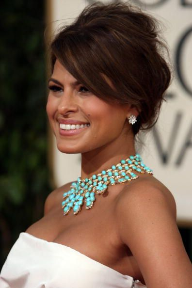This color POPS on darker skin.. beaded necklaces can add oomph to the most bland outfits