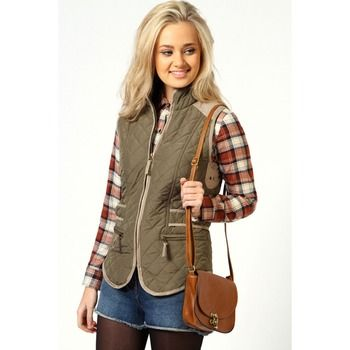 'Boohoo' Alice Quilted Gilet. Sale $20.00