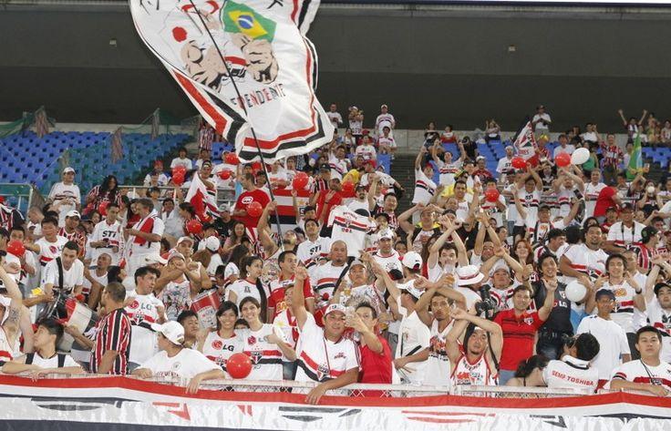São Paulo Futebol Clube - Bastidores de Kashima Antlers-JAP x São Paulo