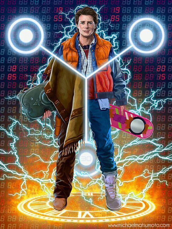 Back to the Future - Trilogy / Zurück in die Zukunft - Trilogie / Marty McFly