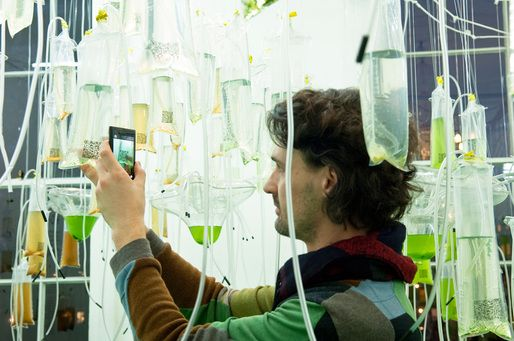 IABR–2014–URBAN BY NATURE– Part 2: The Urban Metabolism | Cyber-Gardering the City (ecoLogicStudio) © Sue Barr | Archinect