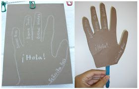 Spanish Simply: Spanish Classroom Door Decorations