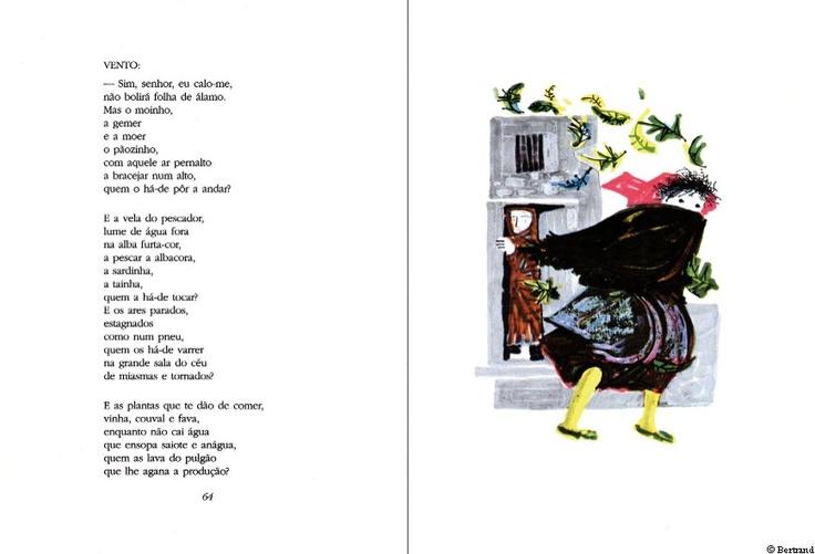 O livro de Marianinha : lengalengas e toadilhas em prosa rimada / Aquilino Ribeiro ; il. Maria Keil. Amadora : Bertrand, 1967.  http://195.23.38.178/casadaleitura/portalbeta/bo/portal.pl?pag=sol_lm_fichaLivro=364