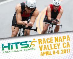 APRIL 9 - Triathlon (Olympic + Half IM) in Napa