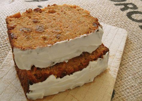 Recept voor een heel gezonde Carrot Cake, zonder gluten, lactose en suiker!