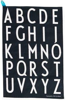 Design Letters - Viskestykker sort 130 kr