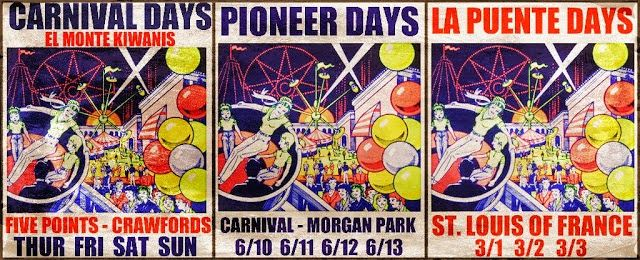 WHEN WE WERE HOME: Those Vintage Carnival Posters (Nailed to telephone poles and in store-front windows.)