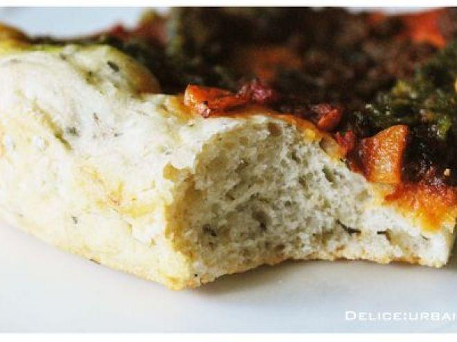 Recette Entrée : La pâte a pizza, moelleuse et croustillante du chef thierry marx par Delice:Urbain