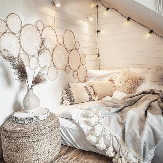 Indian Handmade Macrame Hanging Decorations Bohemian Handwork Wall Tapestry Living Room Bedroom Wa In 2020 Cozy Room Home Decor Bedroom Apartment Decor #wall #tapestry #for #living #room
