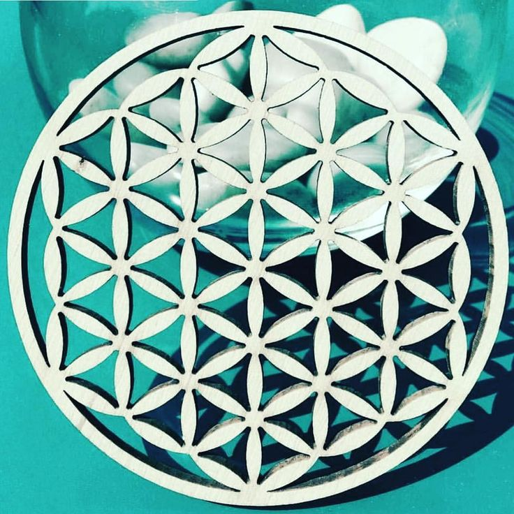 Flower of life - One of the oldest sacred symbols known to man. A pattern used for Linda Hering sarongs, silk wraps and beachtowels