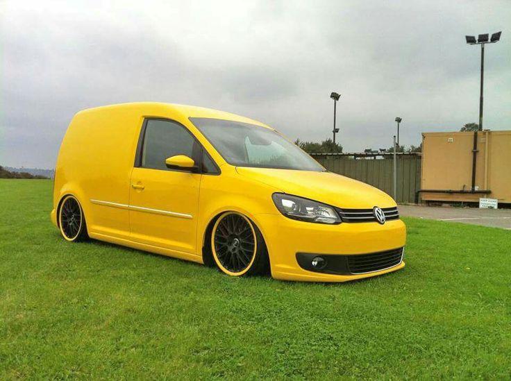 Very yellow caddy 2k