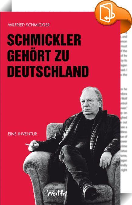 Schmickler gehört zu Deutschland    ::  Schmickler gehört zu Deutschland - aber gehört Deutschland auch zu ihm? Höchste Zeit für eine gründliche Inventur. Texte aus aktuellen Bühnenprogrammen, aus den Mitternachtsspitzen und natürlich die eine oder andere Antwort auf die WDR 2 Montagsfrage, dokumentieren die schwierige Beziehung zwischen Schmickler und Deutschland.  Gehört er wirklich dazu? Und wenn ja, warum regt er sich dann immer so auf? Angereichert wird die Debatte mit autobiograf...
