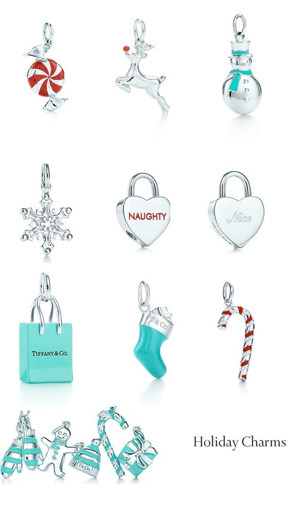 Tiffany Charms.  OMG! WOW! YES! PLS!  I WANT theses sooooo BAD!!!