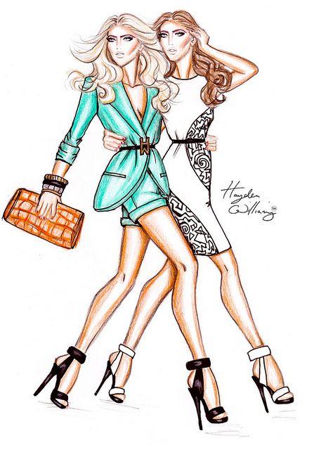 Hayden Williams Fashion Illustrations | Hayden Williams Spring/Summer 2012 Ad Campaign