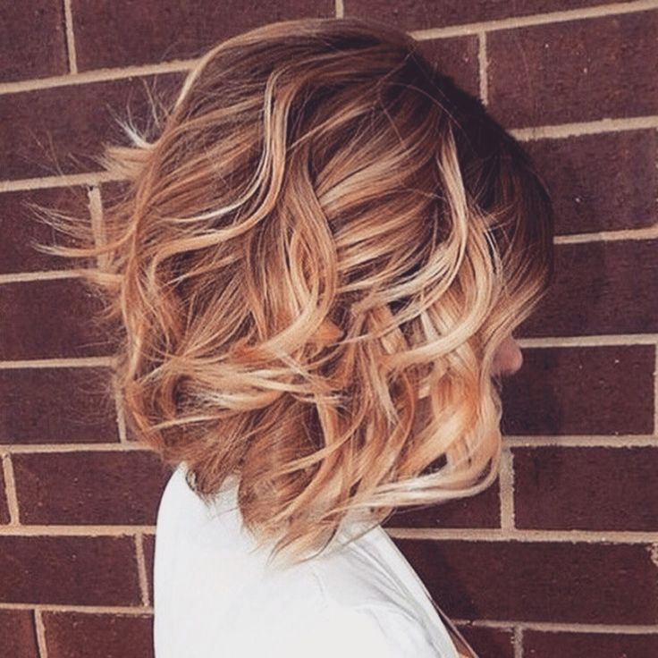 Beautiful highlights and cut.: