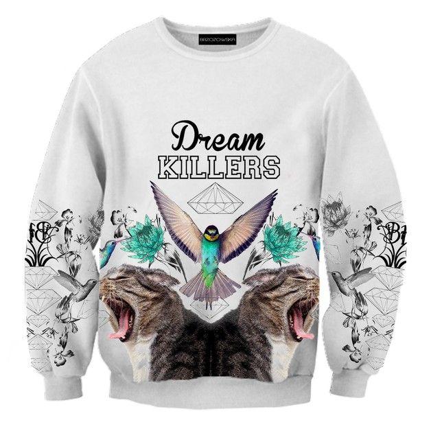 Dream Killers Sweatshirt - brzozowskafashion - Bluzy