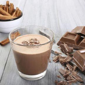 Smoothie tendresse au chocolat, café et moka