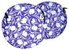 Set Of 2 Round Waterproof Seat Pads Tulip Purple http://www.abentleycushions.co.uk/products.asp?search4=Round%20Waterproof%20Seat%20Pad