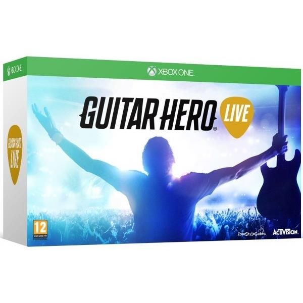 Guitar Hero Live With Guitar Controller Xbox One Game | http://gamesactions.com shares #new #latest #videogames #games for #pc #psp #ps3 #wii #xbox #nintendo #3ds