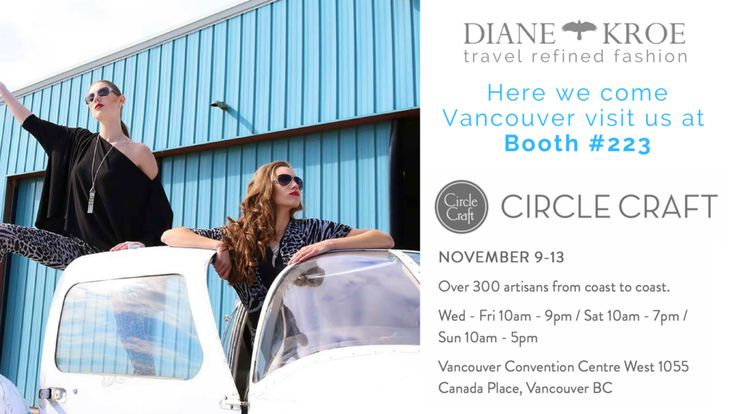 Diane Kroe Vancouver Circle Craft Show @circlecraft