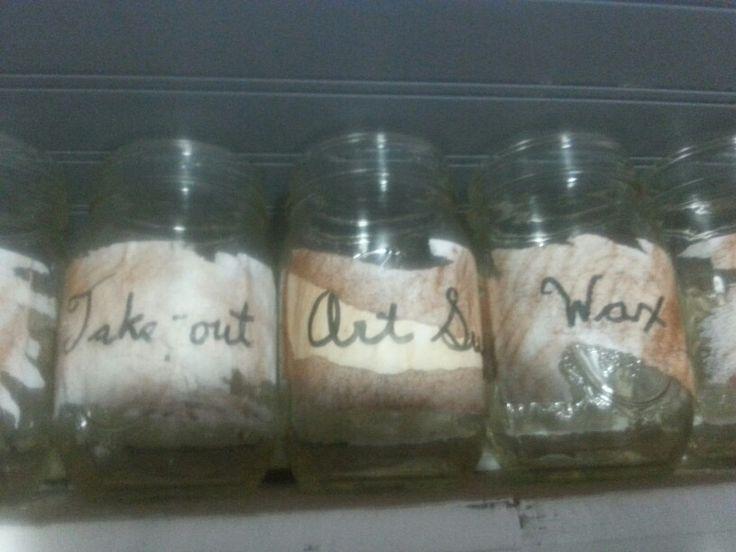 Jars for everyday saving