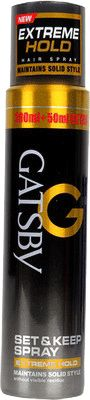Gatsby Hair Spray Extreme Hold Buy Online at Best Price in India: BigChemist.com