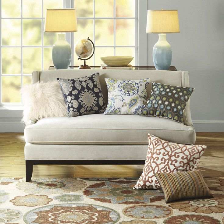 Mix And Match Throw Pillows To Give Your Room A Unique Look Be Bold With