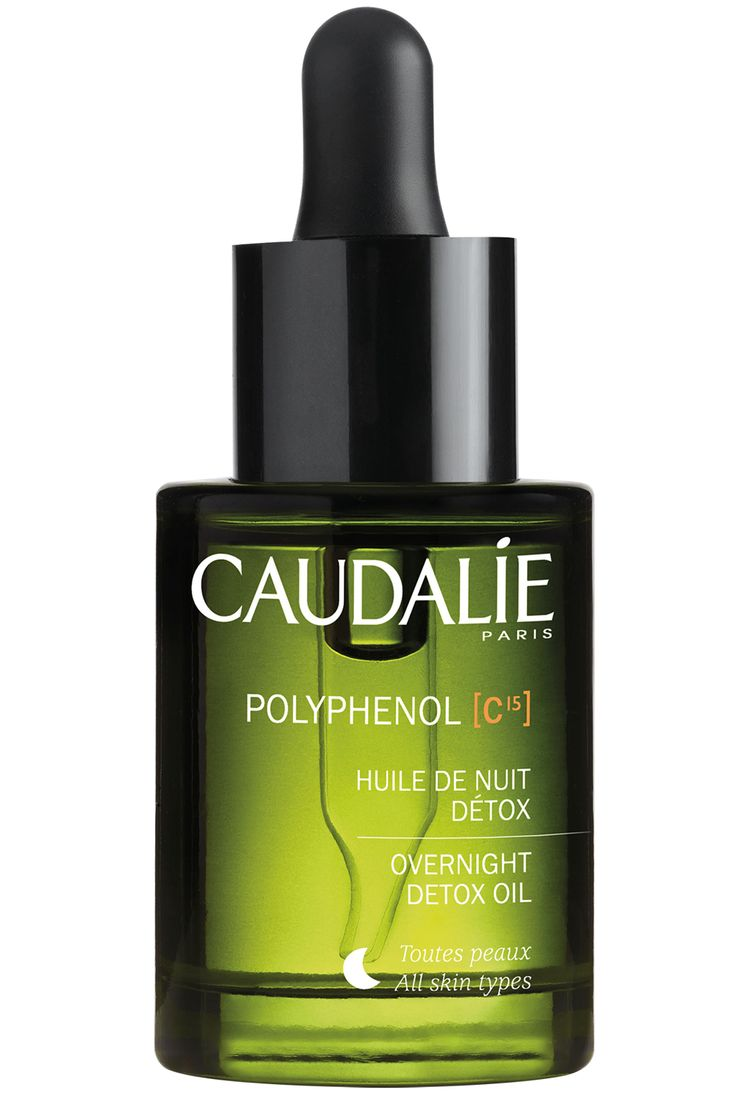 Caudalie Polyphenol C15 Overnight Detox Oil, £29.