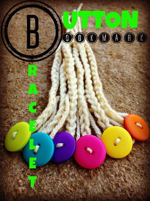 Button Bookmark Bracelet Tutorial - great gifts for kids - great craft for older kids