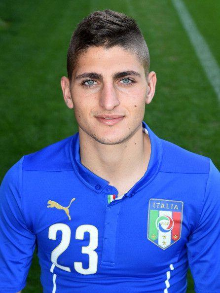 Marco Verratti maglia numero 23 dell'Italia ai Mondiali 2014