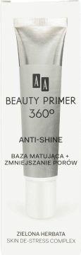 AA, Beauty Primer 360, baza matująca + zmniejszanie porów, 30 ml, nr kat. 244978