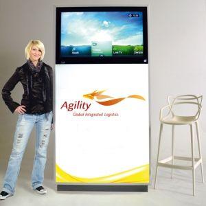 LCD-Indoor-Displays für Ihren Werbeerfolg auf Messen oder im eigenen Haus! Infos unter http://www.awag.de/LCD-und-LED-Displays/LCD-Displays-Stelen/LCD-Indoor-Displays-Stelen---176_141_122.html