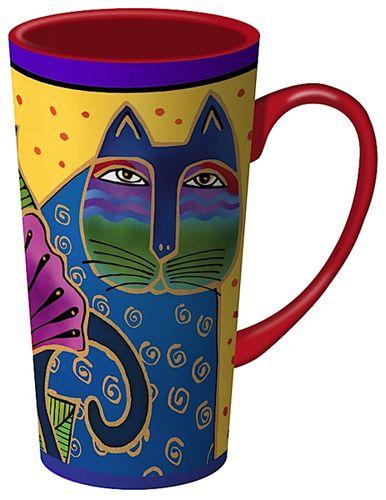 Cat Latte Mugs - Blossoming Spirit