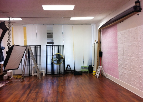 One Side Of Our Studio Ana Brandt Photography Our