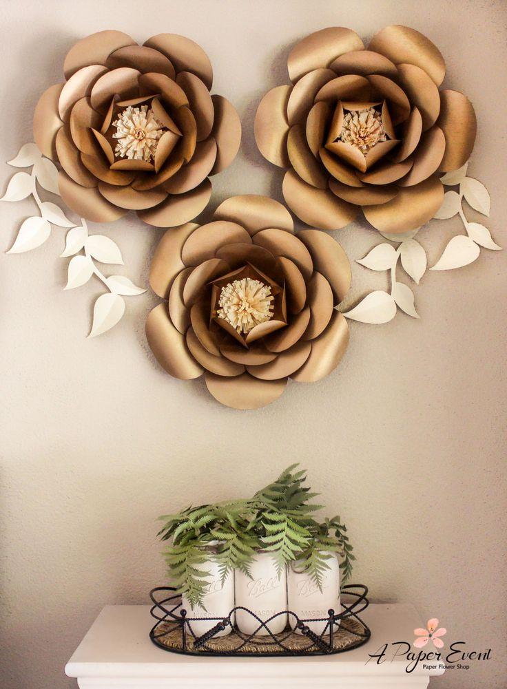 Papel de telón de fondo de flores flores de papel por APaperEvent