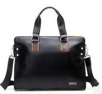 Nuevos 2015 Bolsa de viaje de negocios Casual PU + cuero hombres de la cartera bolsas de mensajero de los hombres bolsas de viaje de cuero Bolsas Bolsas Femininas B67