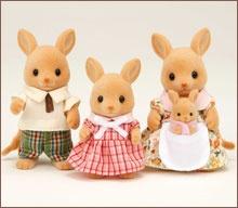 カンガルーファミリー Famille des kangourous