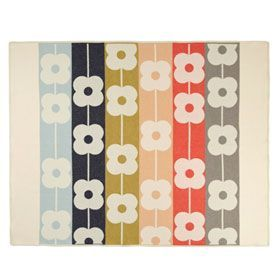 Orla Kiely Throw | Giant Abacus | Spring Multi from www.illustratedliving.co.uk