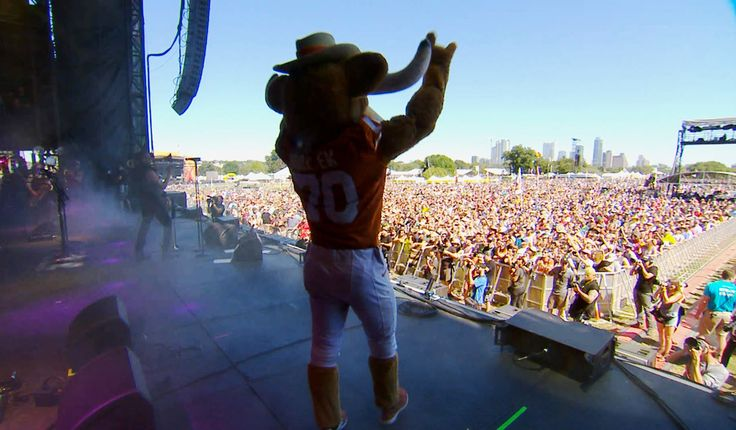 ACL Festival & The University of Texas Longhorns Football