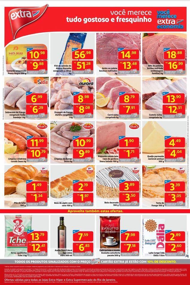 Catálogo de promoções de Extra Supermercado  #de18a23janeiro2017 #facebairro #fb
